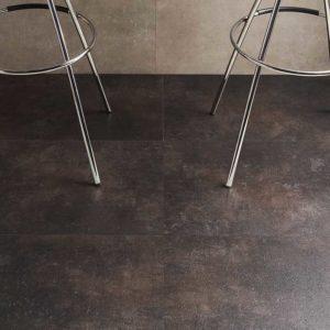 mettalic grey spc flooring from hillswood
