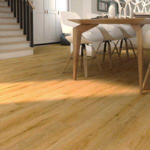 sawed oak spc flooring from hillswood