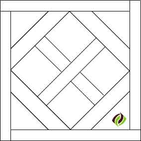 Provence pattern floor tile illustration