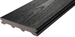 Semi Solid outdoor decking plank profile