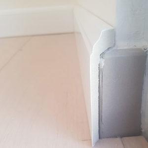 PVC waterproof cover skirting