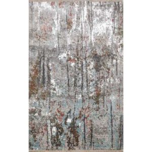 forest hand knotted rug