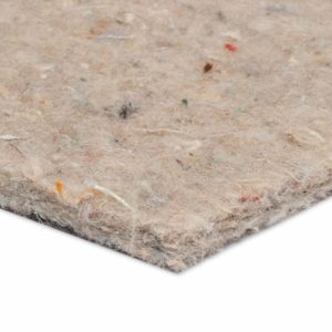 felt underlay for use with carpets