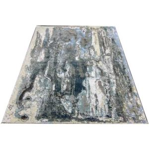 winter hand knotted rug